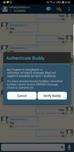 aTalk_IKey_Authentication