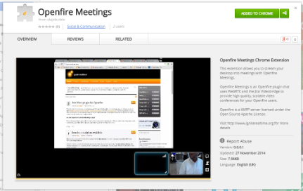 Openfire Meetings - Ignite Realtime Blogs - Ignite Realtime