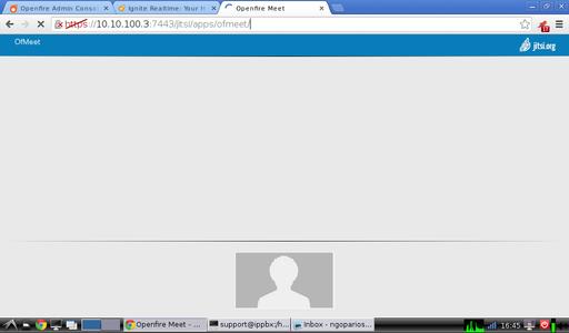 OfMeet Video conferencing application based on jitmeet
