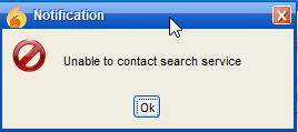 searcherror